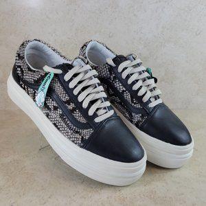 VANS comfycush animal print sneakers UNISEX